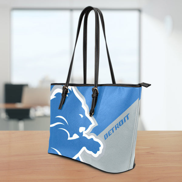 Detroit Small Leather Tote Bag