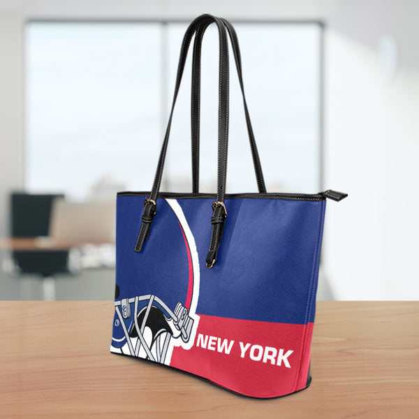 New York Small Leather Tote Bag