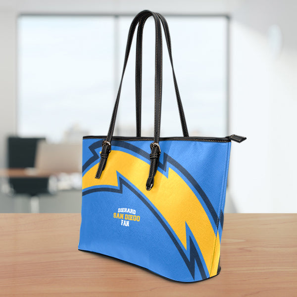 San Diego Small Leather Tote Bag