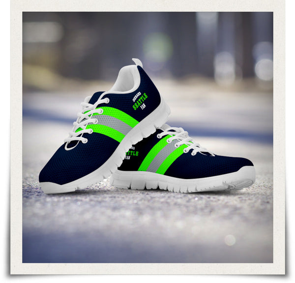Seattle Fan Running Shoes
