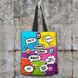 AL Comic Nurse Tote Bag