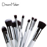10 Pcs Superior Professional Soft Cosmetic Make Up Brush Set Woman's Makeup Brushes