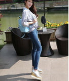 2016 Fashion Backpacks Women PU Leather School Bag  Female Candy Colors Travel Shoulder Bags Waterproof Back Bags Mochila