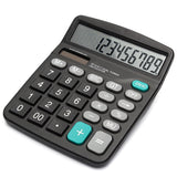 2016 Newest Portable Office Commercial Tool Battery or Solar 2in1 Powered 12 Digit Electronic Calculator with Big Button