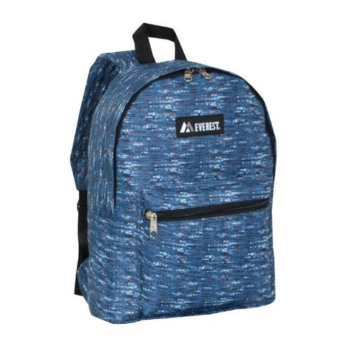 Everest Luggage Multi Pattern Backpack school dorm class