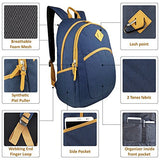 Bag Wizard Vintage Travel School Laptop Backpacks Book Bags for College