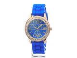 Women's Analog Display Analog Quartz Blue Watch wristwatch timer