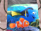 "Finding Dory Hank Octopus Backpack Medium 17"" Book Bag"