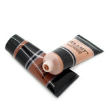 Brand New Beauty Black Liquid Foundation Cream Makeup Women Dark Color Foundation Concealer Liquid Make Up Base 40ML