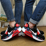 The new 2016 men and women breathable light plus-size network shoes wear casual sport fashion shoes