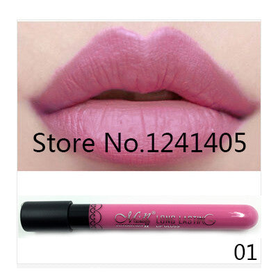 1PCS High Quality Moisture Matte lip gloss Color Waterproof Lipstick Long Lasting Nude lip stick lipgloss 20 colors