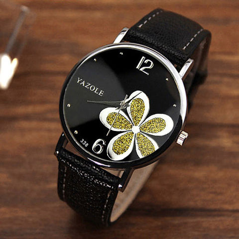 Quartz Watch Women Watches Brand Luxury 2016 Wristwatch Female Clock Wrist Watch Lady Quartz-watch Montre Femme Relogio Feminino