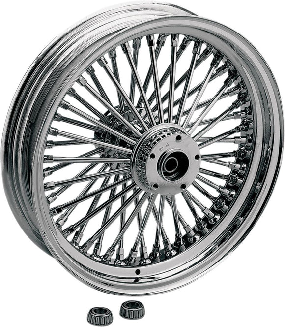 Drag Specialties Fat Daddy Front Wheel 21X2.15 Single-Disc Chrome - Part #02030248 - Hogparts UK