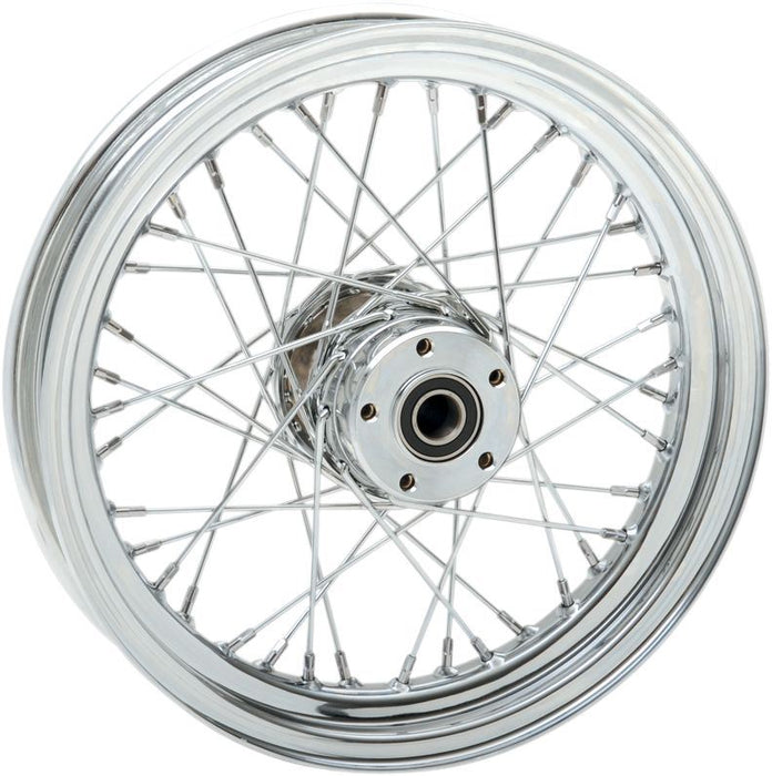 "Drag Specialties Front Wheel 16""X3 Laced Chrome - Part #02030534 - Hogparts UK"