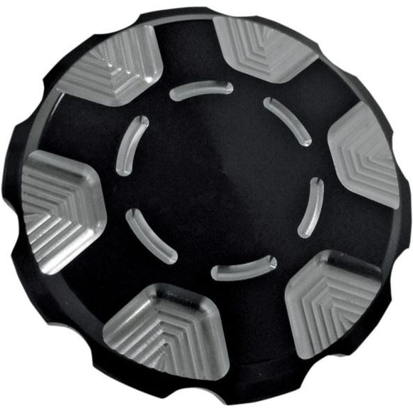 Joker Machine Serrated Gas Cap - Part #07030354 - hogparts-uk.myshopify.com