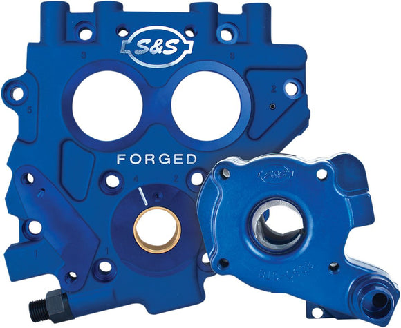 S&S TC3 Oil Pump and Cam Support Plate Kit - Part #09320110