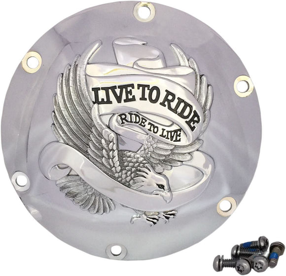 Live To Ride Derby Cover - Part #11070629 - hogparts-uk.myshopify.com