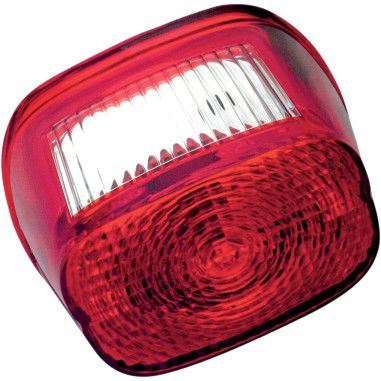 Drag Specialties Red Replacement Taillight Lens - Part #20101254 - Hogparts UK