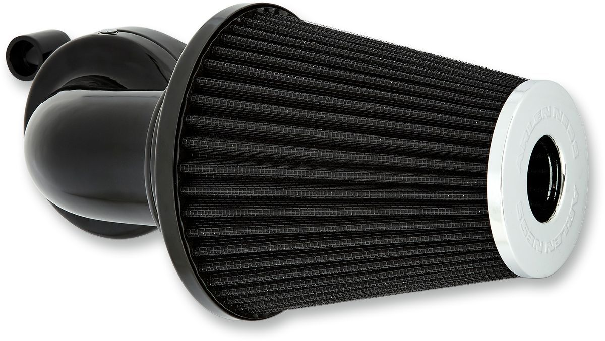 Arlen Ness Air Cleaner Kit Monster Sucker Without Cover Black - Part #10102098
