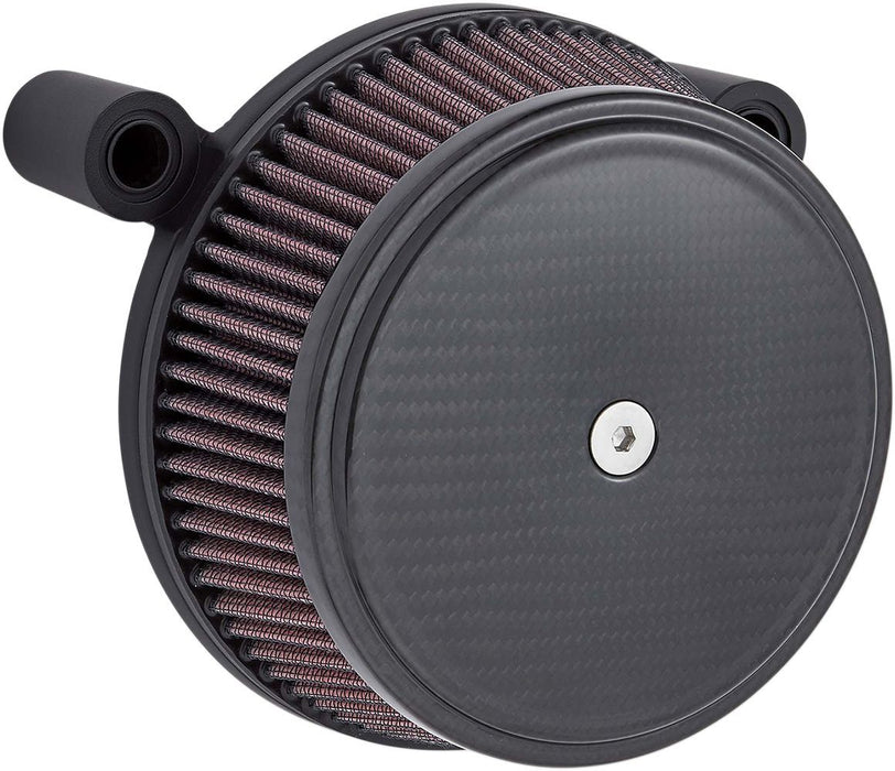 Arlen Ness Air Cleaner Cover Big Sucker Carbon - Part #10102475