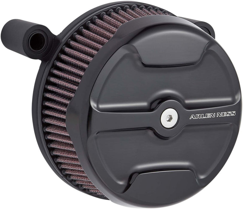 Arlen Ness Air Cleaner Big Sucker Stage 1 Knuckle Black Xl - Part #10102480