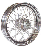 "V-FACTOR COMPLETE 3.00 X 16"" 40 SPOKE CHROME WHEEL FOR HARLEY-DAVIDSON"