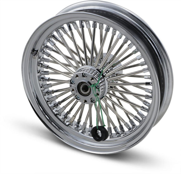 Drag Specialties Fat Daddy Rear Wheel 16X3.5 Chrome - Part #02040250 - Hogparts UK