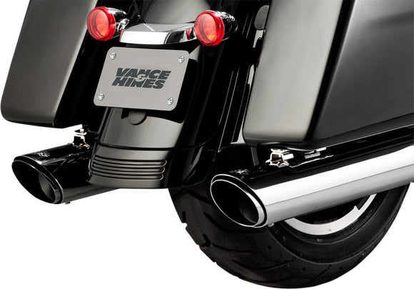 Vance & Hines Twin Slash Slip-On Muffler - Part #18011070 - hogparts-uk.myshopify.com