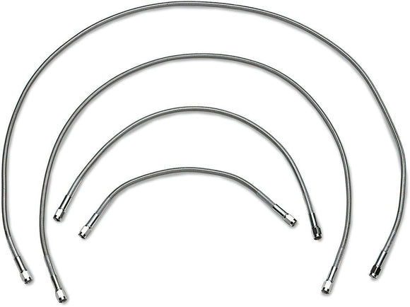 Drag Specialties Universal Brake Line Stainless Steel An-3 36