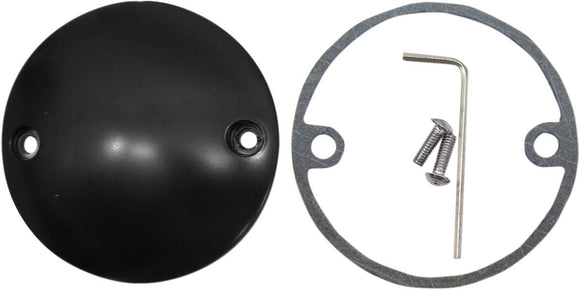 Drag Specialties Point Cover Flat Black 2-Hole - Part #09401244 - Hogparts UK