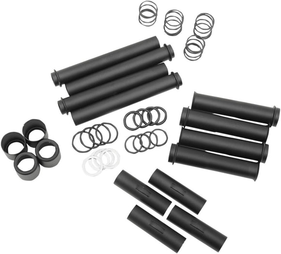 Drag Specialties Pushrod Tube Kit Satin Black - Part #09280043 - Hogparts UK