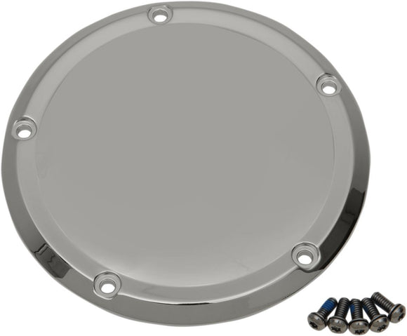 Drag Specialties Cover Derby Domed Chrome - Part #11070489 - Hogparts UK