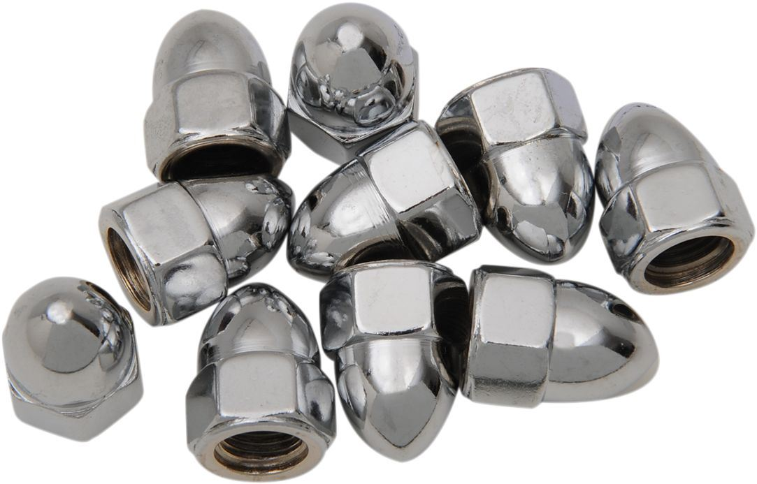 Drag Specialties Acorn Nut 3/8-24 Chrome - Part #DS190858 - Hogparts UK