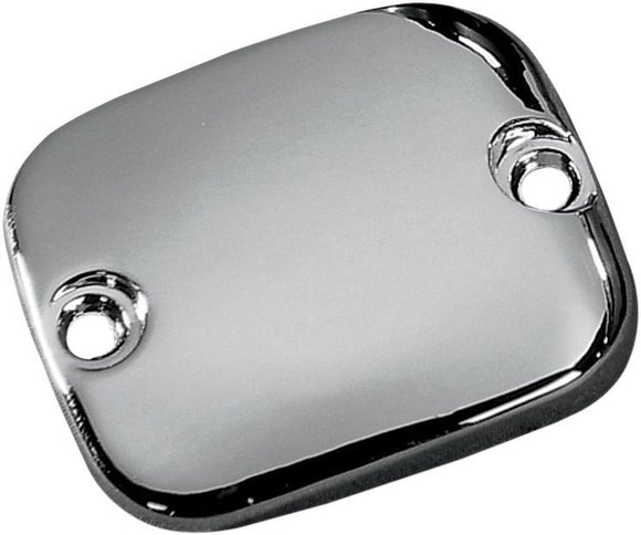 Drag Specialties Handlebar Master Cylinder Cover Smooth Chrome - Part #DS373813 - Hogparts UK