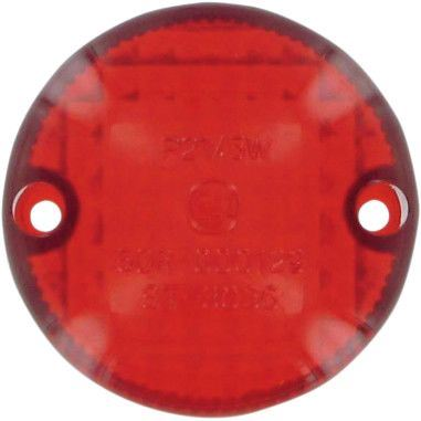 Drag Specialties Replacement Red Lens For  - Part #20101252 - Hogparts UK