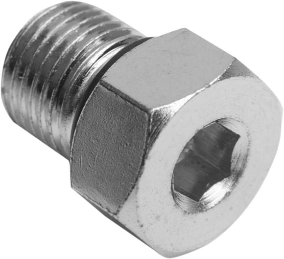 Drag Specialties Magnetic Drain Plug W/ O-Ring 1/2