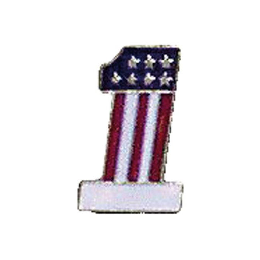 #1 FLAG PIN - <br><br>Part #535883 - Hogparts UK