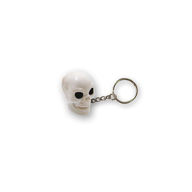 TRIKTOPZ SKULL KEY CHAIN WHITE - <br><br>Part #555600 - hogparts-uk.myshopify.com