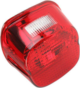 Drag Specialties Taillight Laydown Led Red Lens W/ Top Taglight - Part #20100782 - Hogparts UK