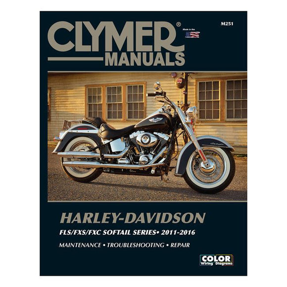 Clymer service manual 11-16 Softail - 11-16 Softail <br><br>Part #574741