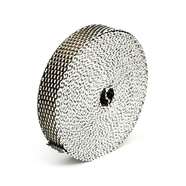 "Thermo-Tec, exhaust insulating wrap. 1"" wide. Platinum  - Part # MCS519817"