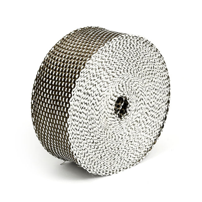 "Thermo-Tec, exhaust insulating wrap. 2"" wide. Platinum  - Part # MCS519818"