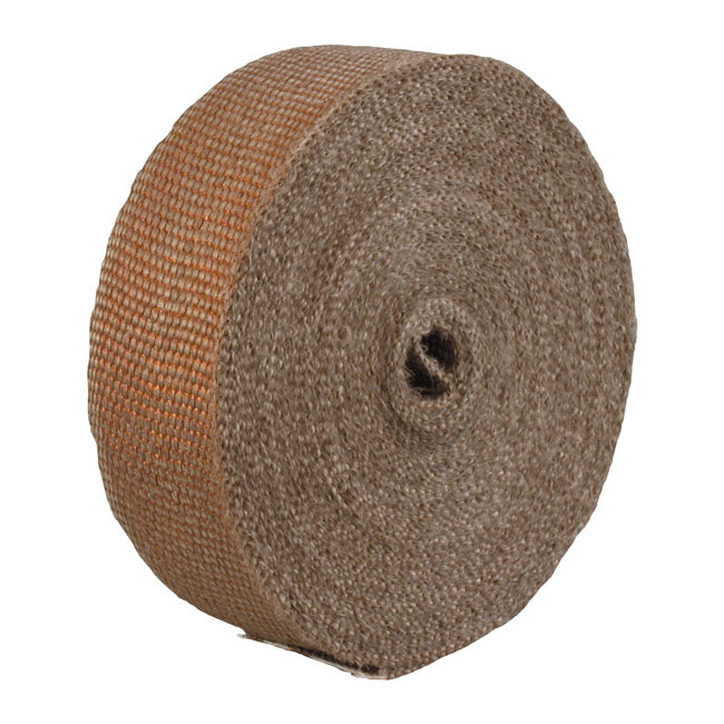 "Thermo-Tec, exhaust insulating wrap. 2"" wide. Copper MULTIFIT - Part # MCS519866"