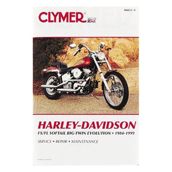 CLYMER SERVICE MANUAL 84-99 SOFTAIL - 84-99 Softail <br><br>Part #517507