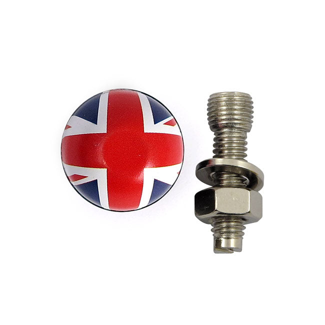 Trik Topz licence plate mounts UK flag Universal - Part # MCS555831