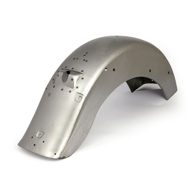 Motorcycle Storehouse Rear FL Style Softail Fender - 86-97 FLST/C; Custom On 84-99 All Softail #568967