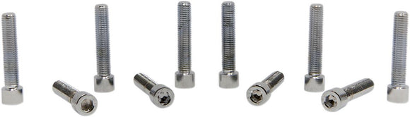 Drag Specialties Socket-Head Bolt 1/4-28X1.5 Smooth Chrome - Part #DS190564S - Hogparts UK