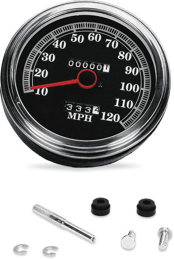 Drag Specialties Fl Speedometer 2240:60 89-95 Face - Part #DS243844 - Hogparts UK