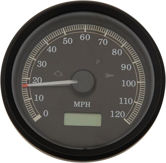 Drag Specialties Electronic Speedometers Mph Programmable 3-3/8