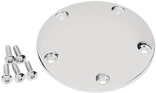 Drag Specialties Point Cover 5-Hole Chrome - Part #78050080 - Hogparts UK